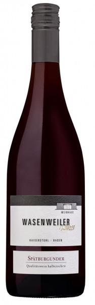 2016 Spätburgunder Rotwein Kreuzhalde Qualitätswein halbtrocken