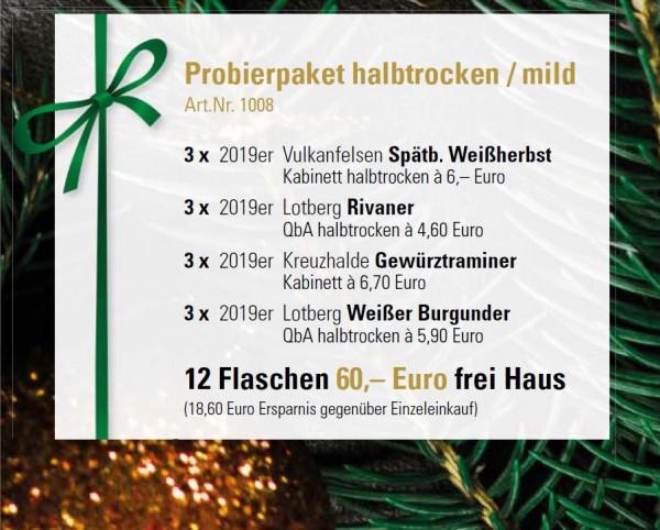 Probierpaket halbrocken/mild